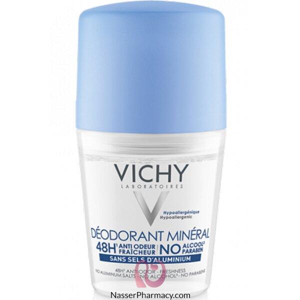 فيشى (vichy) بدون ملح الألمونيوم - مزيل عرق 48 ساعة -  50 مل