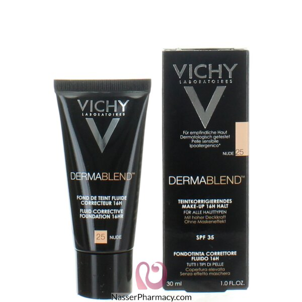 فيشى ( Vichy )  ديرمابلند كريم أساس مصحح سائل -25-nude