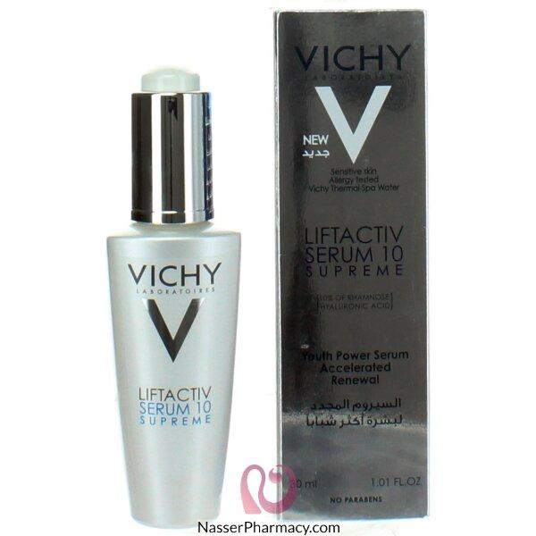 ( فيشى ) (vichy)  ليفت أكتيف سيروم 10 سوبريم لشد البشرة   30 مل