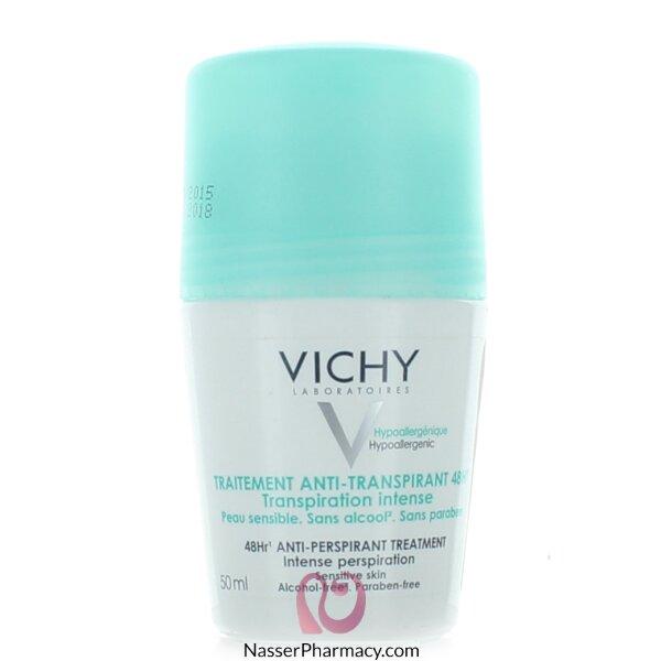 فيشي (intensive )vichyمزيل العرق الزائد 48 ساعة - 50مل