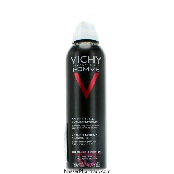 فيشي Vichy    أوم جل حلاقة لا يسبب الاحمرار للرجال - 150مل