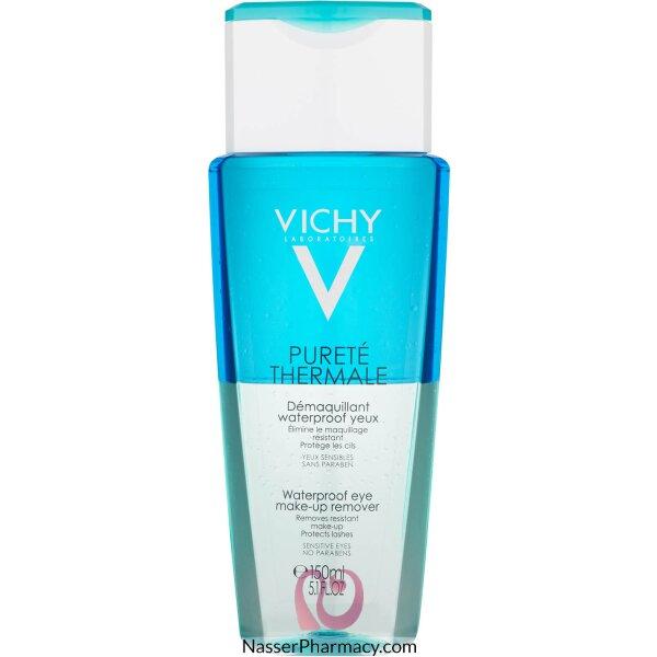 فيشي Vichy    بيورتيه ثيرمال مزيل لمكياج العين المقاوم للماء - 150 مل