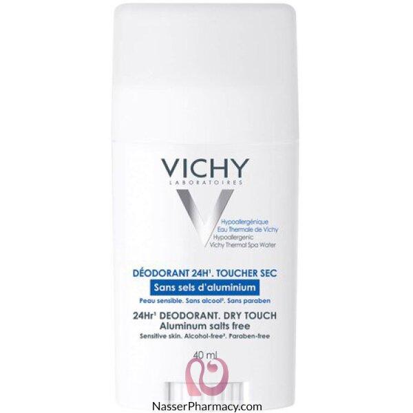 Vichy 24-hour Deodorant Free From Aluminium Salts Stick Irritated Skin - 40ml