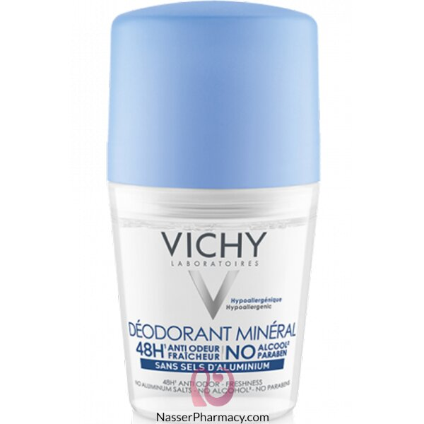 Vichy Aluminium Salt-free Mineral Deodorant  48 H -roll-on 50ml