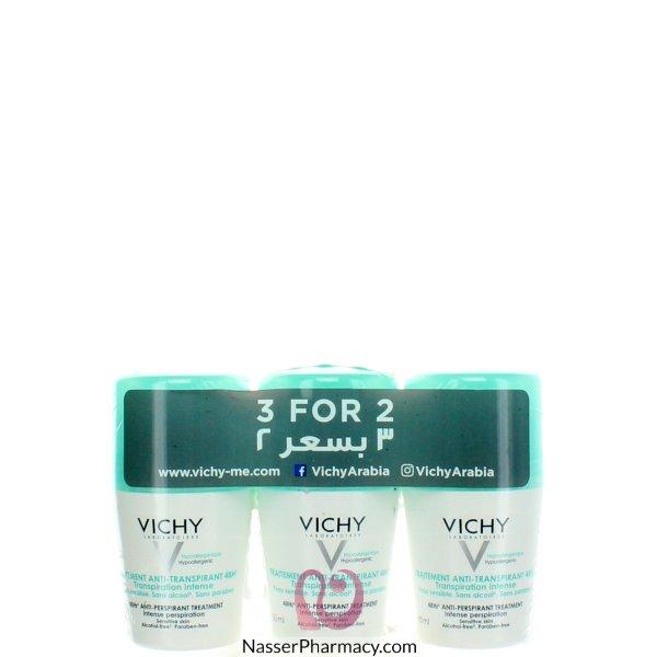 Vichy Anti-perspirant 3 For 2 Promo E