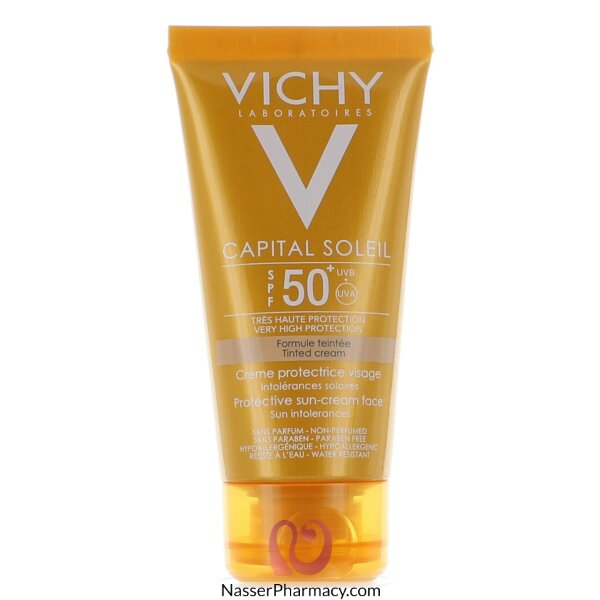 Vichy Capital Soleil Sun Protection Cream Spf +50 Tinted Cream - 50ml