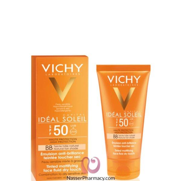 Vichy Capital Soleil Tinted Face Fluid Sun Protecyion Spf+50 - 50ml