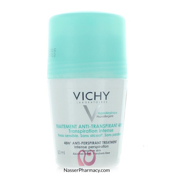 Vichy Deodorant 48-hour Intensive Anti-perspirant Treatment - Roll On - 50ml
