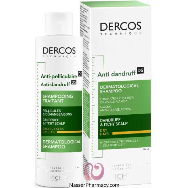 Vichy Dercos Anti-dandruff Shampoo For Dry Hair - 200ml