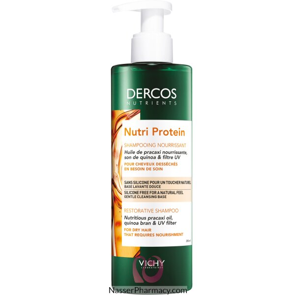 Vichy Dercos Nutri Protein Nourishing Shampoo 250ml