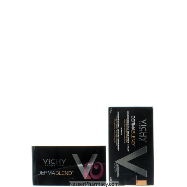 Vichy Dermablend Compact Cream Corrective Foundation 12hr Bronze 55