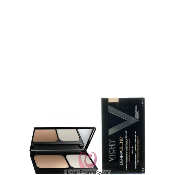 Vichy Dermablend Compact Cream Corrective Foundation 15 Opal