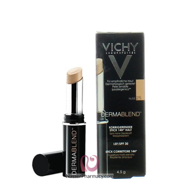 Vichy Dermablend Corrective Concealer Stick  Nude 25