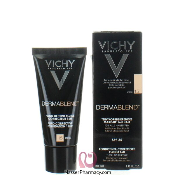 Vichy Dermablend Fluid Corrective Foundation 16hr Opal 15