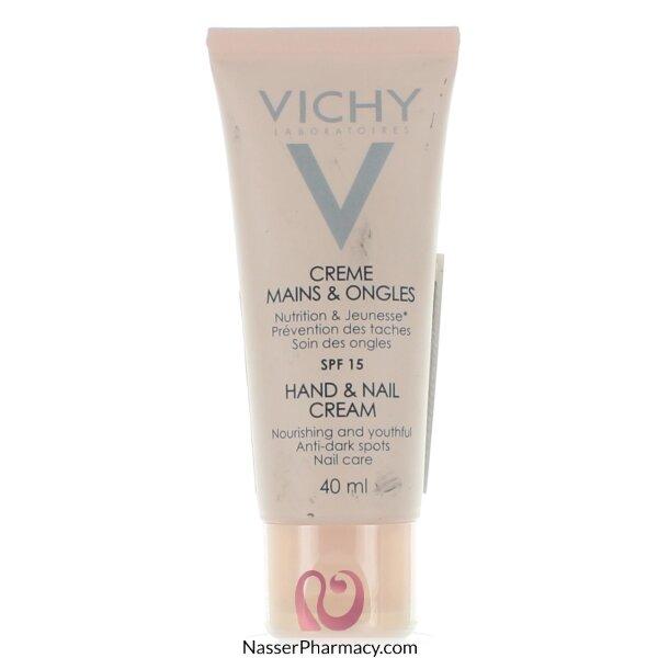 Vichy Hand & Nail Cream Spf 15 - 40ml