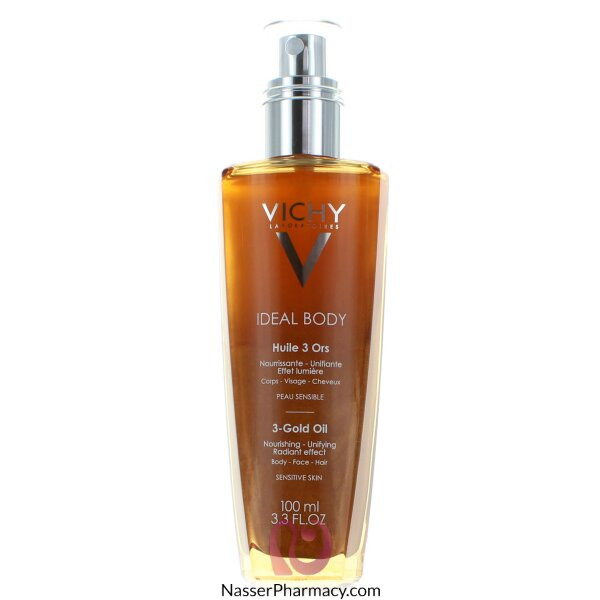Vichy Ideal Body 3-gold Oil - Dry Oil - 100ml