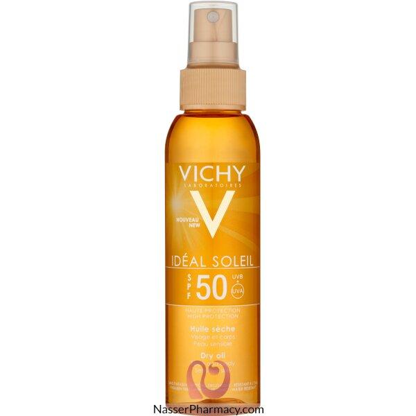 Vichy Ideal Soleil Spf 50 Body Oil Spray- 125ml