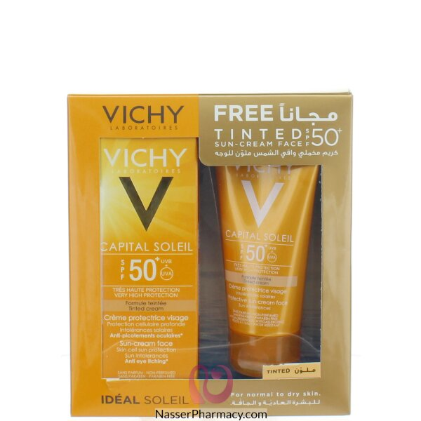 Vichy Ideal Soleil Tinted Sun Protection Cream +50 Promo