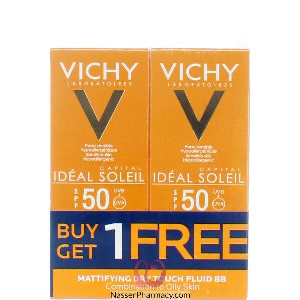 Vichy Ideal Soleil Vichy Ideal Soleil Mattifying Dry Touch Fluid Bb Promo
