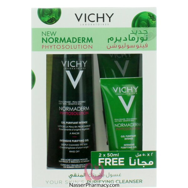 Vichy Normaderm Clnsng Gel 300ml Promo