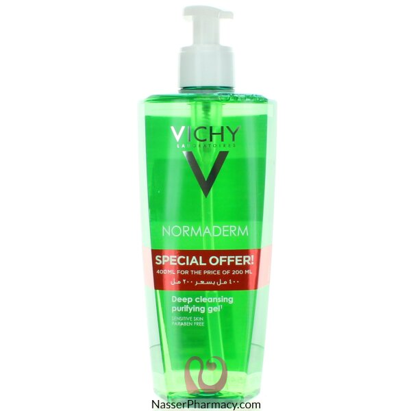 Vichy Normaderm Deep Cleansing Purifying Gel 400ml