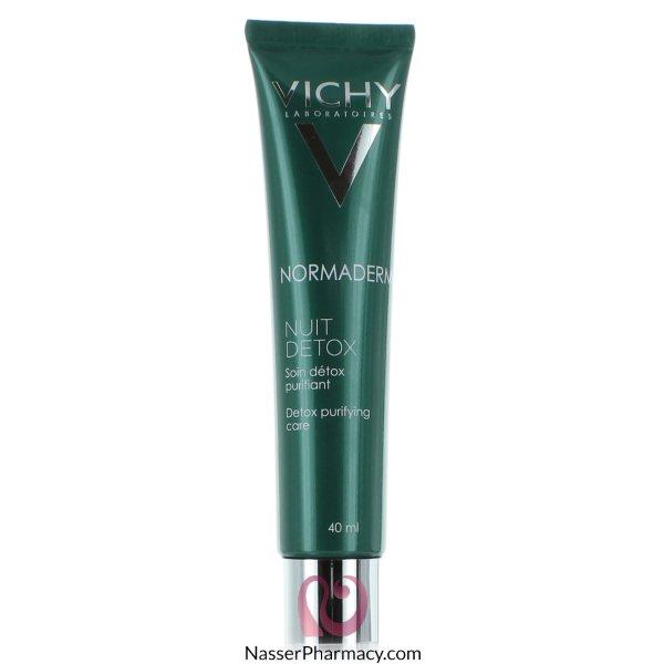 Vichy Normaderm Night Detox Cream - 40ml