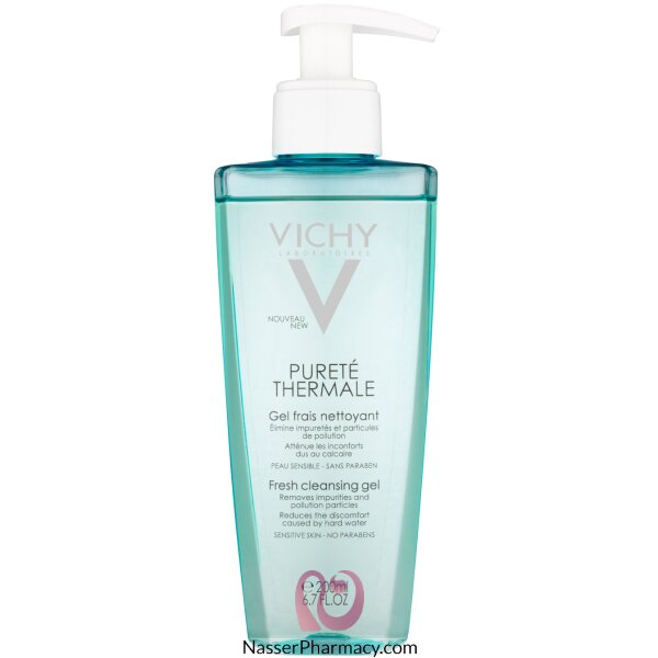 Vichy Purete Thermale Fresh Cleansing Facial Gel (soap Free) - 200ml