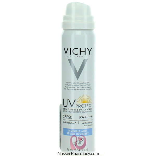 Buy Vichy Skin Defense Daily Care Invisible Mist Spf50 75ml From Nasser Pharmacy In Bahrain