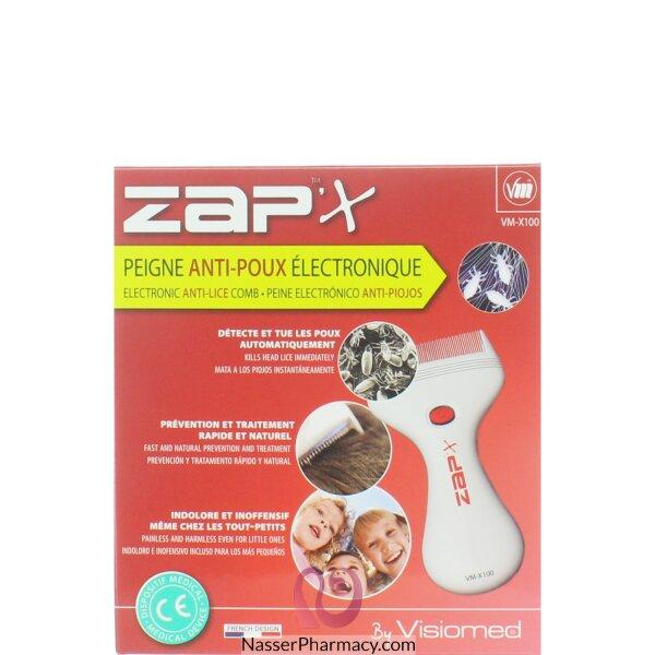 فيسوميد Visiomed Zapix مشط الكتروني لمكافحة حشرات الشعر وفروة الرأس