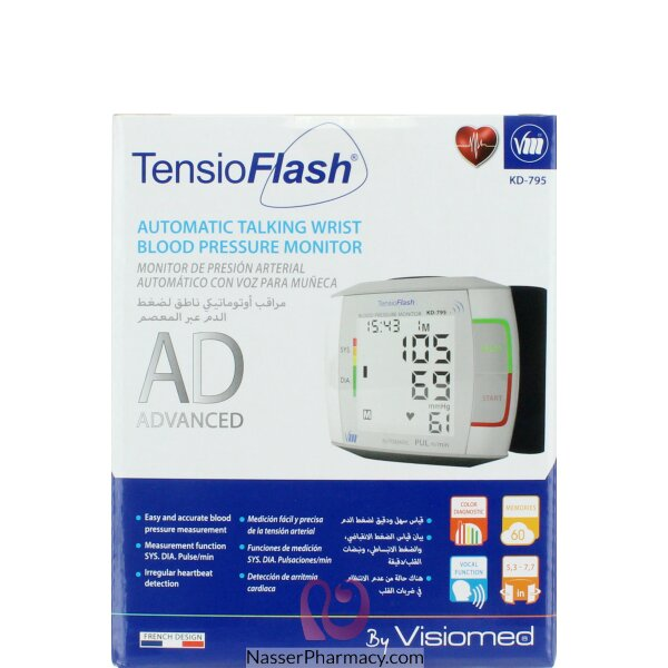 Tensio Flash  Blood Pressure Monitor ( Wrist )
