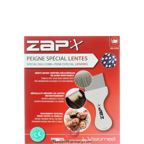 Visiomed Zapx Special Egg Comb X200