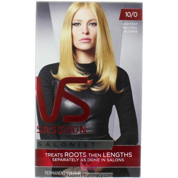 Vidal Sassoon Salon Light Natural Blond 10/0