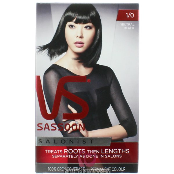 Vidal Sassoon Salon Neut Blk-56491