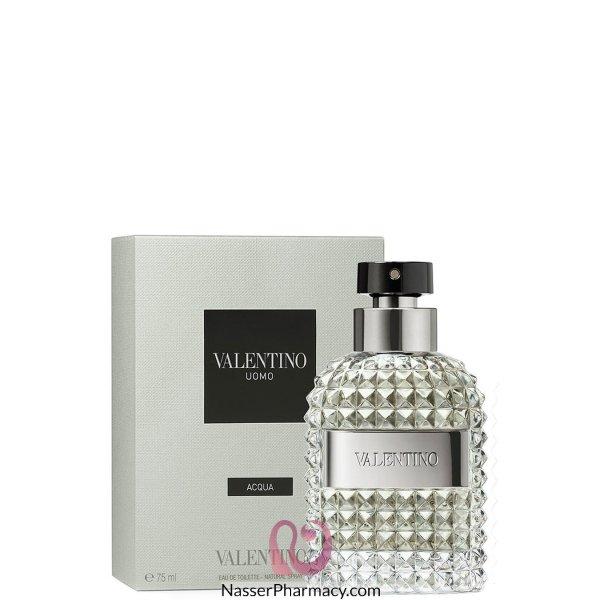 Valentino Uomo Acqua Eau De Toilette 75ml