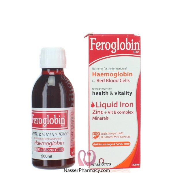 فيروجلوبين Feroglobin  بي 12 200 مل
