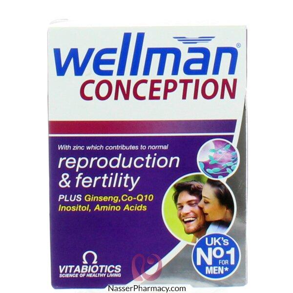 ويلمان كونسيبشن Wellman Conception    للخصوبة فى الرجال 30 قرص