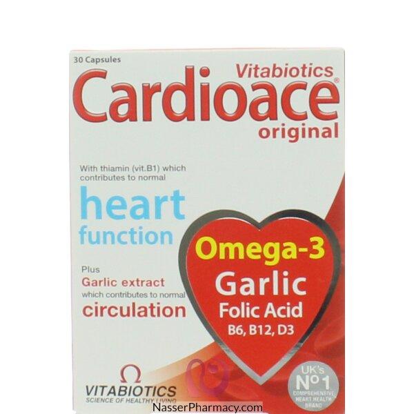 Cardioace Cap 30's