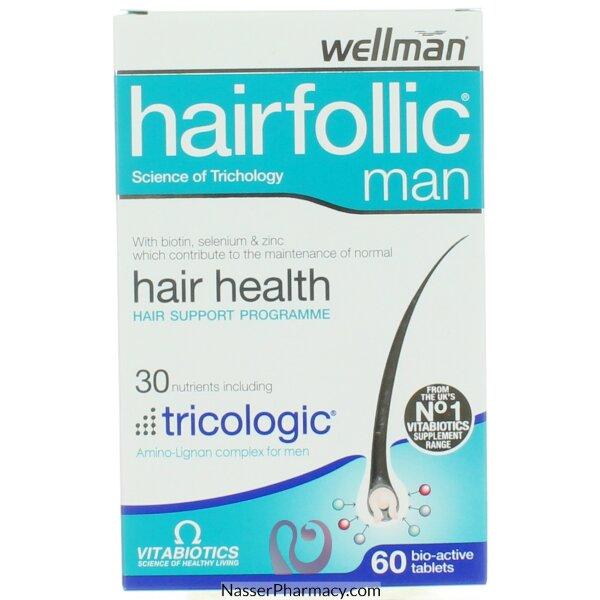 Hairfolic Man Tab 30&#39s