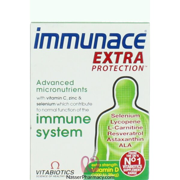 Immunace Extra Protection Tab 30's