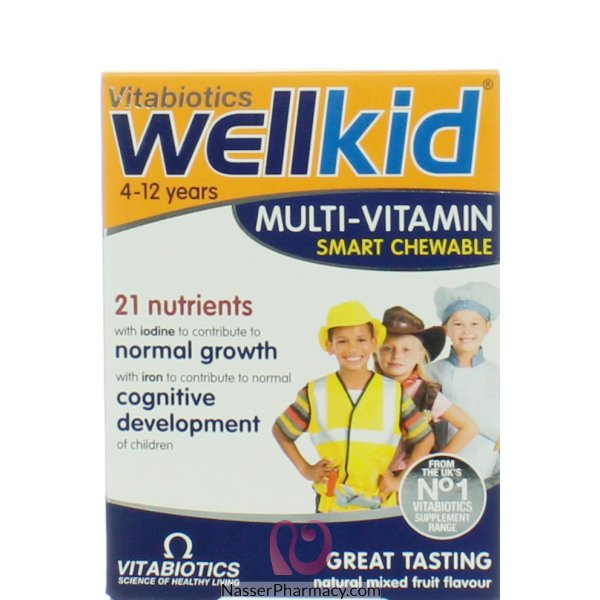 Welllkid Chewable Tab 30&#39s