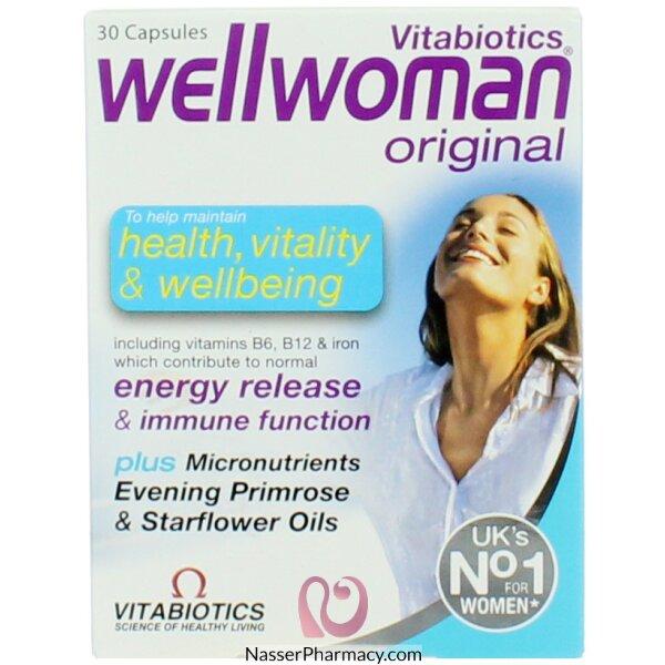 Wellwoman Caps 30 S