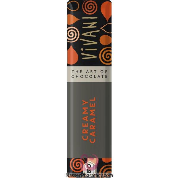 Vivani Vivani Creamy Caramel Choc Bar 40g