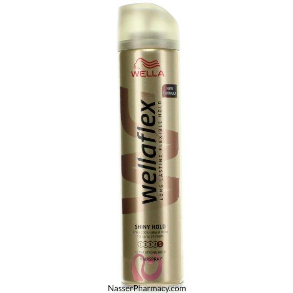 Wella Flex Hair Spray Shiny Hold Ultra Strong 250ml