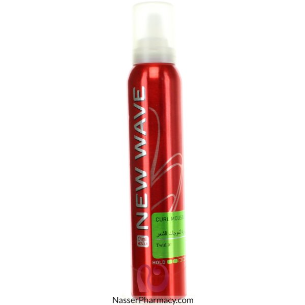 Wella New Wave Curl Mousse 6*200ml