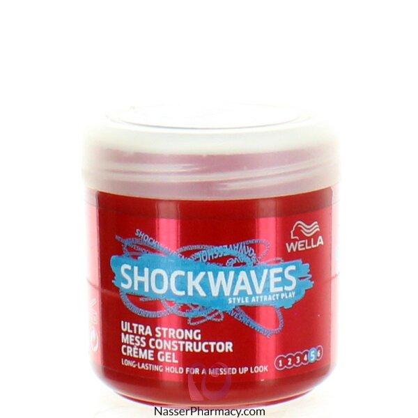 Wella Shockwaves Ultra Strong Mess Constructor Gel 150 Ml