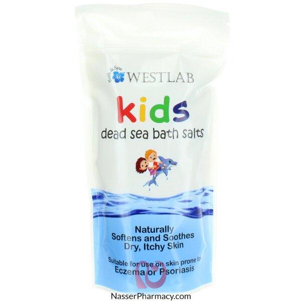 ويست لاب Westlab  ملح االبحر الميت Dead Sea Salt  لاستحمام الأطفال  500 جرام