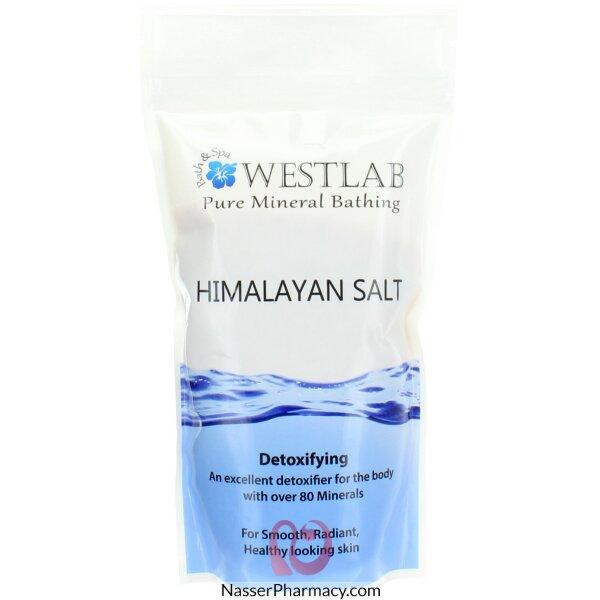 ويست لاب Westlab  ملح الهيمالايا  Himalayan Salt  للاستحمام 500 جرام
