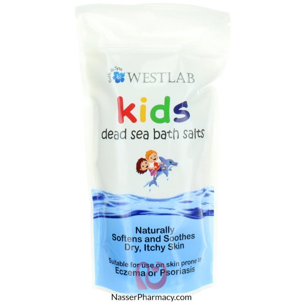 Westlab Dead Sea Salt For Kids 500g