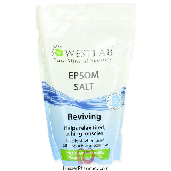 Westlab Pure Mineral Bathing Epsom Salt 1kg