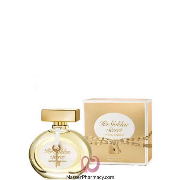 انتونيو بانديراس عطر للنساء Her Golden Eau Du Toilette- 50 مل